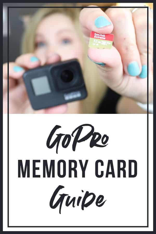 Memory Card For GoPro cameras
